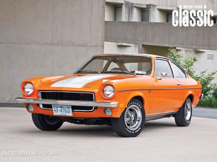 My first car...1millionth chevy vega