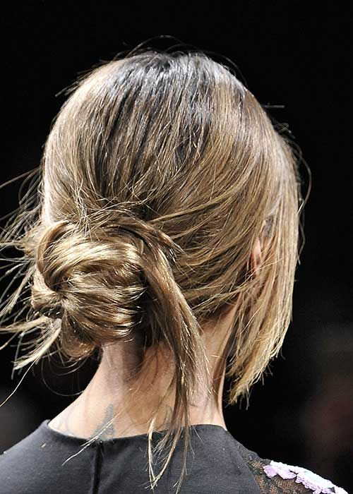 How-to Hairstyle: Flyaway Bun