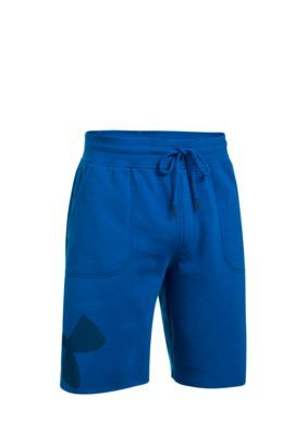 Under Armour Men's Rival Graphic Shorts - Royal/Blackout Navy - 2Xl