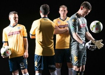 Central Coast Mariners 2014/15 Kappa Home Kit