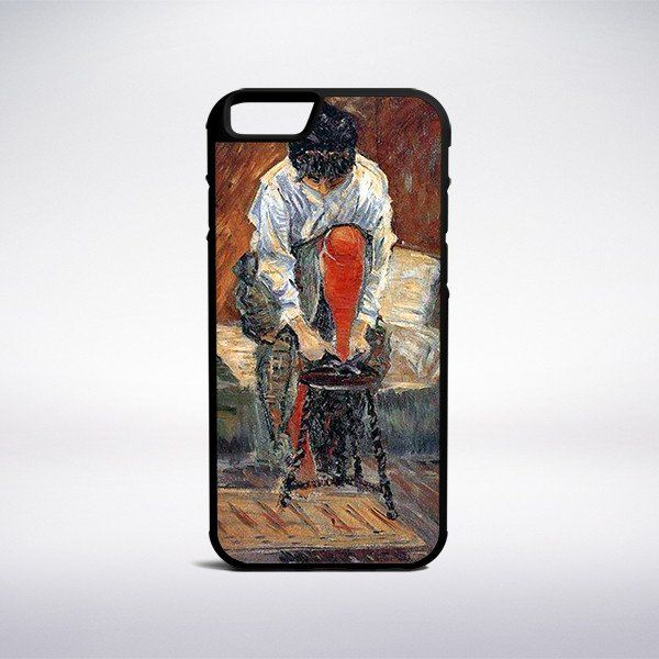 Paul Signac - Red Silk Stockings Phone Case – Muse Phone Cases