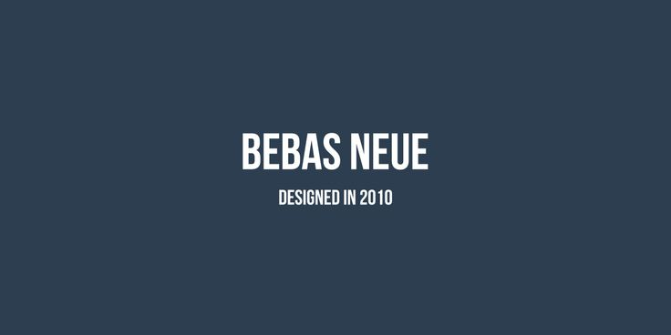 Bebas Neue Download this free font. (SIL Open Font License 1.1)
