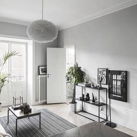 'Room with a view' print in a beautiful styling by @scandinavianhomes #cocolapine