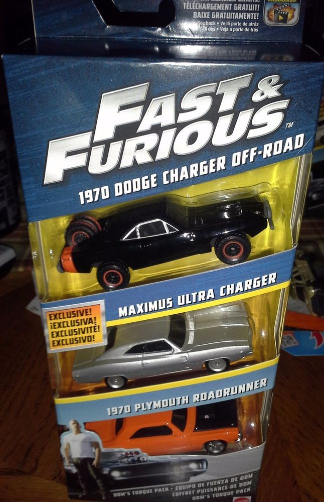 2018 HOT WHEELS FAST AND FURIOUS EXCLUSIVE SERIES COMPLETE 6 CAR SET