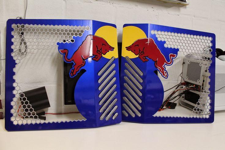 Modding : Mike Petereyns - Red Bull X1 Prototype : Fuuuuuuuuusion ! - Le Comptoir du Hardware