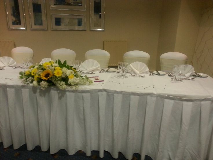 Top table - Bowden Hall