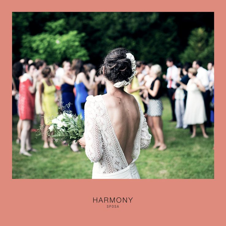 Se volete osare, provate un abito da sposa che lascia scoperta la #schiena: audace ma romantico...