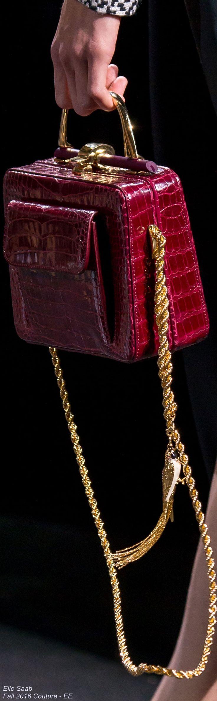 Elie Saab Fall 2016 Couture - EE - cheap handbags online, small black handbag, big handbags online *ad