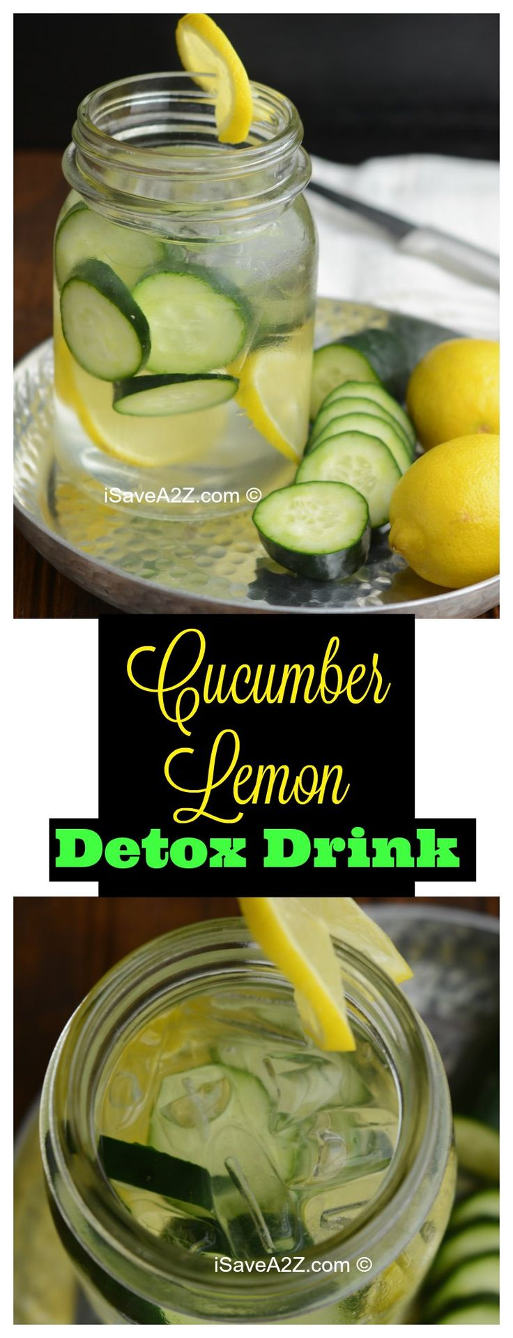 Share80 Pin2K TweetShares 2K Cucumber Lemon Detox Water Drink I am on a roll! I have consumed my daily recommended water intake but only because of amazing recipes just like this Cucumber Lemon Detox water drink recipe here! I cannot drink plain water. Yuck! Nope. I can never drink enough plain water. We all knowContinue Reading...