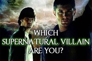 Supernatural - Personality Quiz: Which Supernatural Villain Are You? I'm Azazel, who are you?