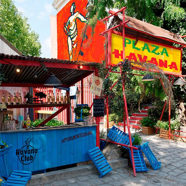 La Plaza Havana au Café A à Paris #rhum #cocktail #mojito #bar