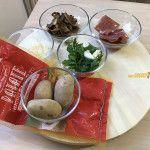 Patate pasticciate con funghi, prosciutto e parmigiano. Come ti cambia la vita il microonde!