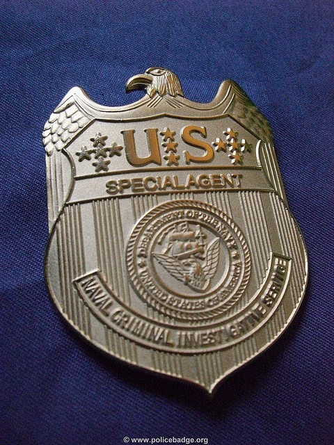 US Navy - NCIS Special Agent's Badge