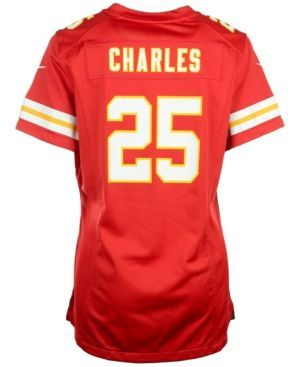 Nike Women's Jamaal Charles Kansas City Chiefs Game Jersey  - Red XL