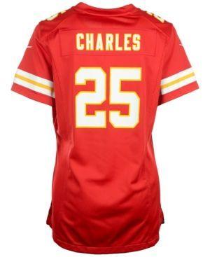 Nike Women's Jamaal Charles Kansas City Chiefs Game Jersey  - Red XL