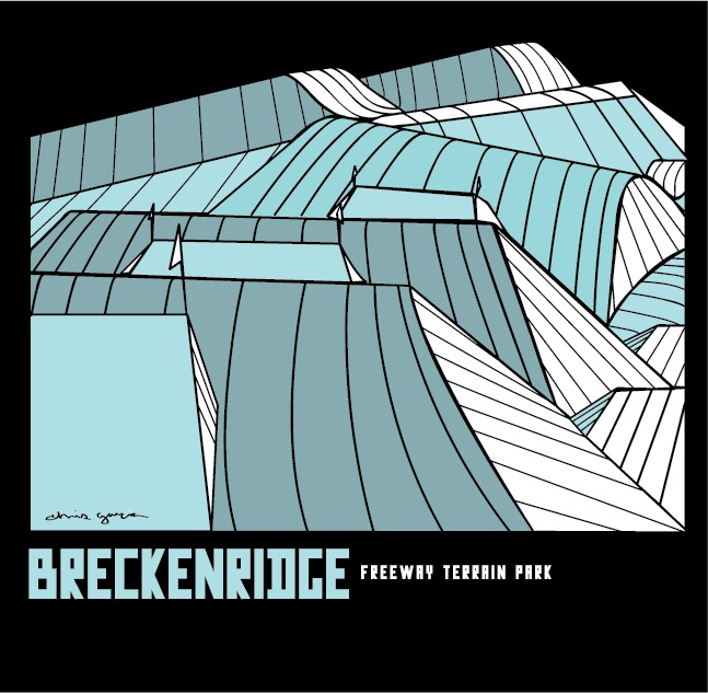 Breckenridge Illustration // Freeway Terrain Park