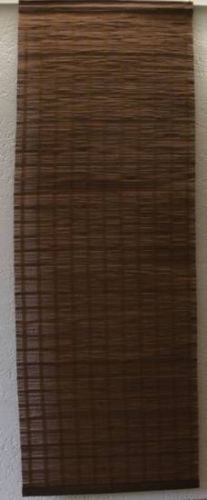 Bambus-Flaechengardine-Schiebevorhang-Paneelenvorhang-Braun-Neu-Ovp-Groessenwahl