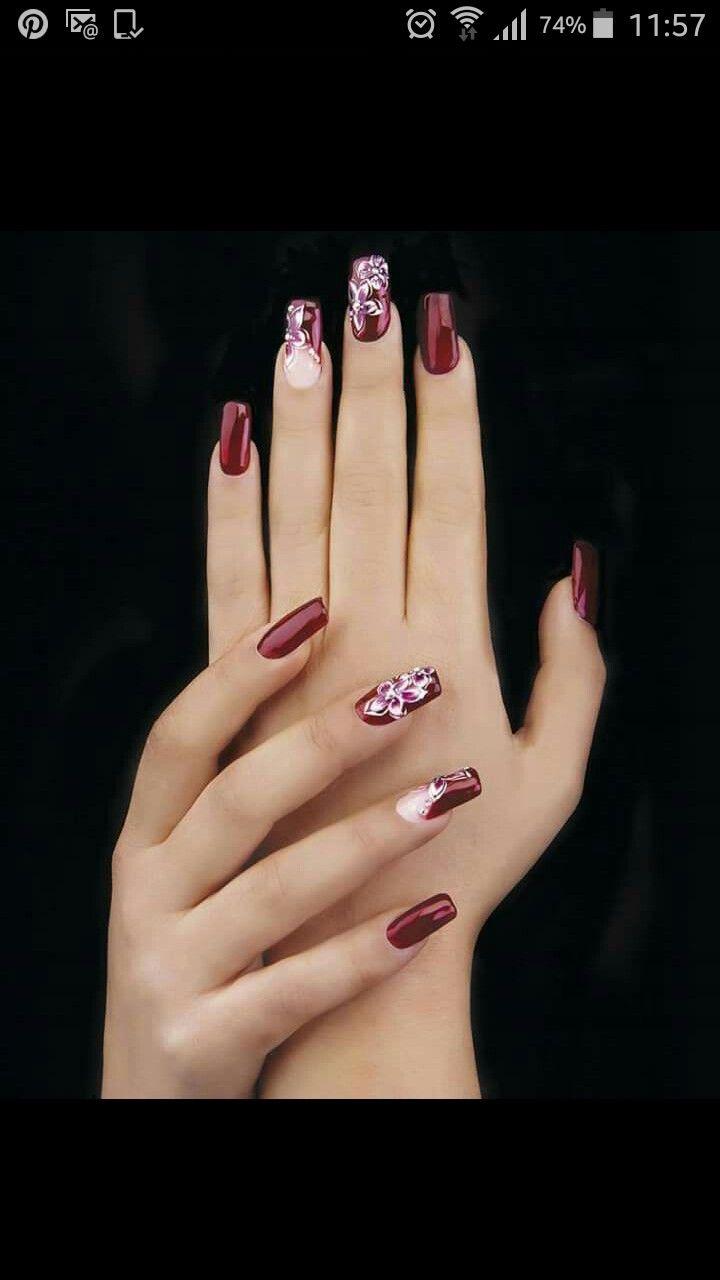 152 besten Nails Bilder auf Pinterest | Nagelkunst, Kosmetik und ...