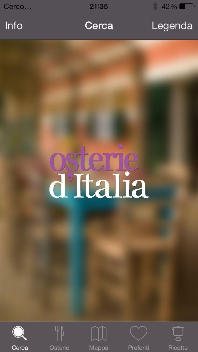 """#App: """"Osterie d'Italia"""": perché l'eccellenza non è solo stellata #mangiaredadio"""