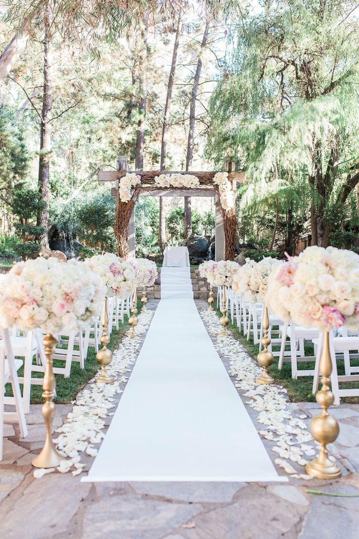277 best wedding aisles images on pinterest wedding ceremony the redwood room at calamigos ranch my dream wedding venue junglespirit Images