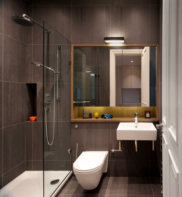 simple small bathroom but very nicely done wall hung toilet : architecture bathroom toilet