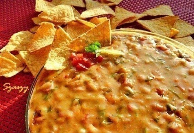 Mexikói sajtos mártogatós