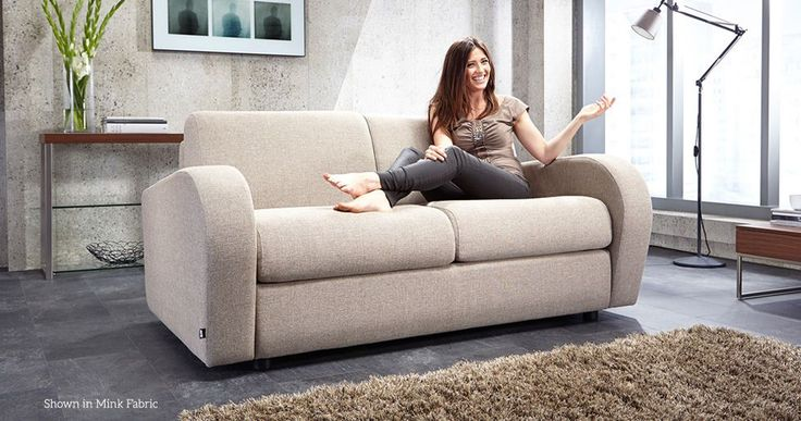Retro Sofa Bed 2 Seater with Pocket Sprung Mattress