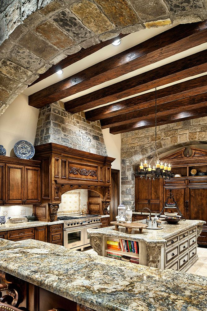 Stone & Wood kitchen