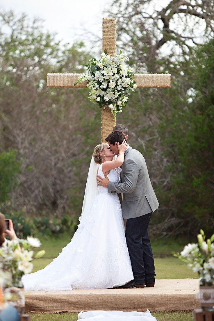 Ceremony of christian weddings