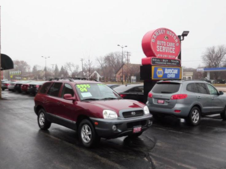 This 2004 Hyundai Santa Fe GLS is listed on Carsforsale.com for $3,995 in Milwaukee, WI. This vehicle includes Anti-Theft System - Alarm, Cassette, Center Console, Clock, Cruise Control, Exterior Entry Lights, Front Air Conditioning, Front Airbags - Dual, Front Fog Lights, Front Seat Type - Bucket, Front Wipers - Intermittent, Gauge - Tachometer, In-Dash Cd - Single Disc, Multi-Function Remote - Keyless Entry, Overhead Console - Front, Power Brakes, Power Door Locks, Power Steering, Power…
