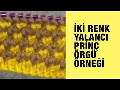 Şakın Bere Modeli (Çaprazlı ilginç teknik ve saç örgüsü) - YouTube
