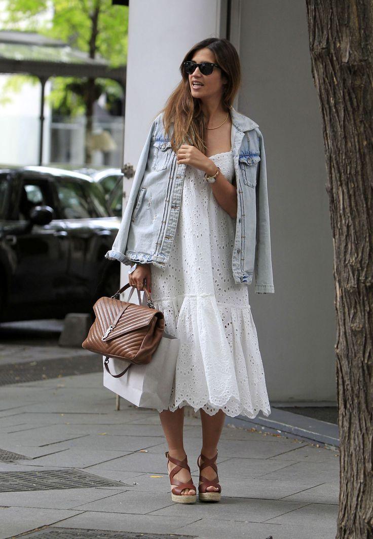 Sara Carbonero estrena el calor con un vestido de Zara - ELLE.es