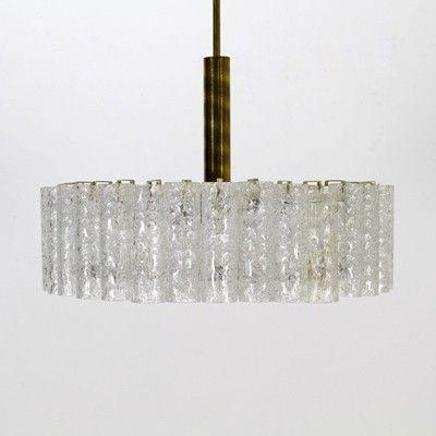 Located using retrostart.com > Hanging Lamp by Unknown Designer for Doria Leuchten