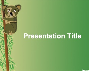 33 best backgrounds images on pinterest plants power points and koala powerpoint template is a free animal ppt template with green background and koala image toneelgroepblik Gallery