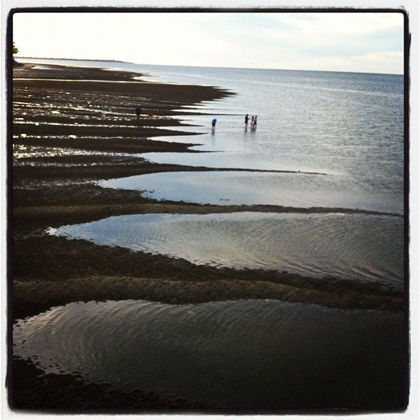 Low tide at Hervey Bay