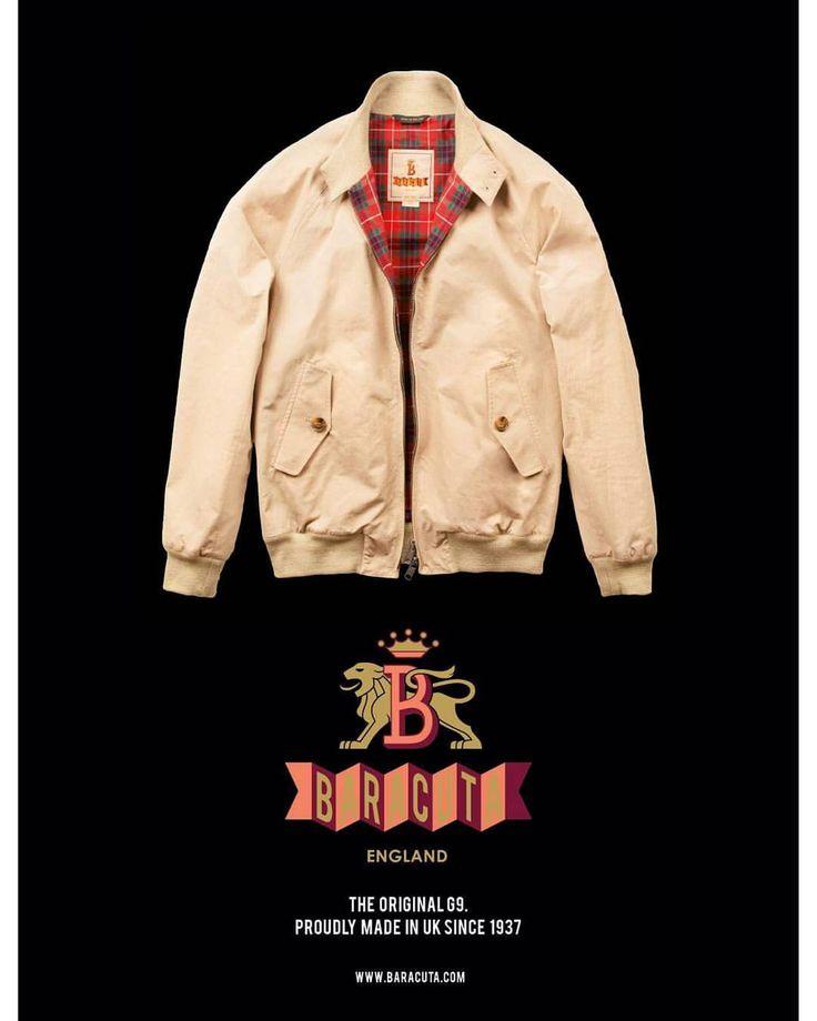 #Baracuta Men #SS16: new season, classic style. www.baracuta.com #BaracutaLondon