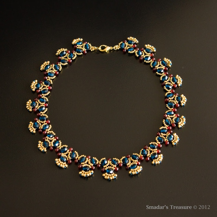 @smardarsgrossman is a very talented bead artist from Israel.  She is a Designer of the Year at Beadwork Magazine and has also been published in Bead and Button magazine and Perlen Posie.  Check out her blog at smadarstreasure.blogspot.com  Smadar's Treasure: Machu Picchu Necklace