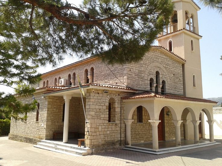 Panagia ( Mary )  Church.