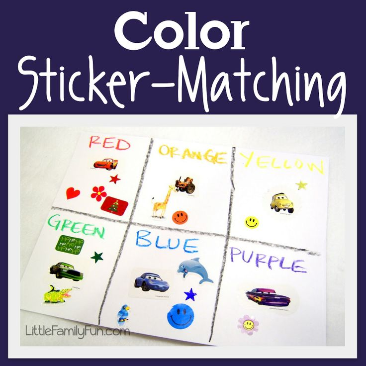 Color Sticker Matching