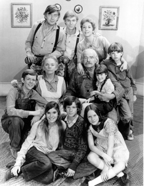 The Waltons 1971- The perfect example of a family who is brought together during the Great Depression. The Walton family makes its small income from its saw mill on Walton's Mountain.