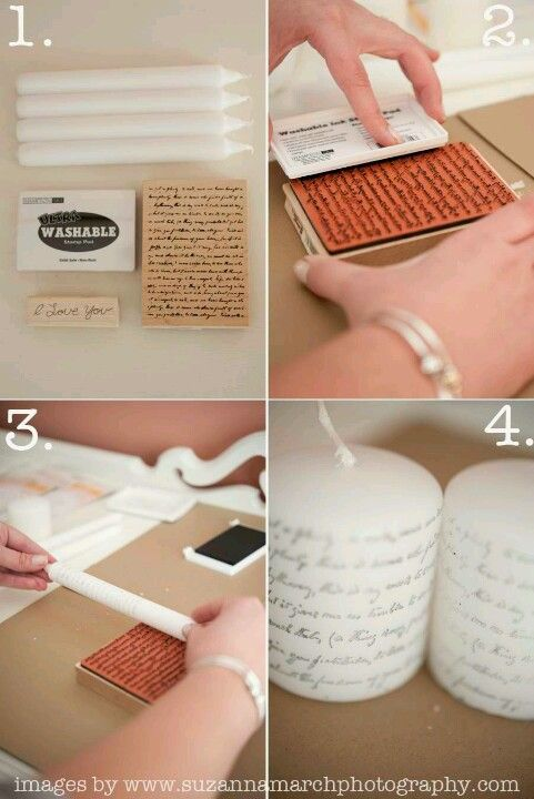 great idea to zazz up boring candles