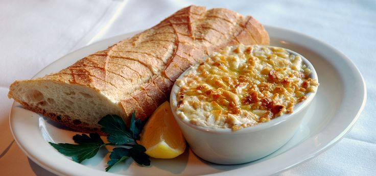Clydes crab and Artichoke Dip
