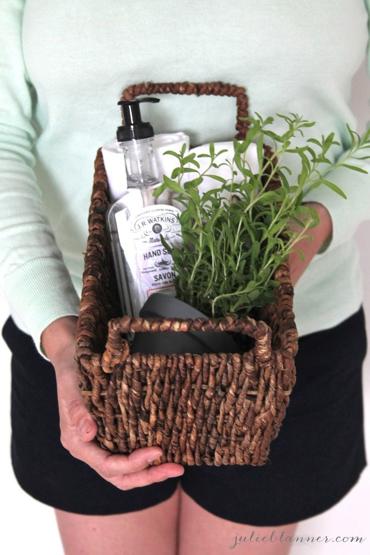 Homemade Housewarming Gift - Coordinately Yours by Julie Blanner entertaining & design that celebrates life