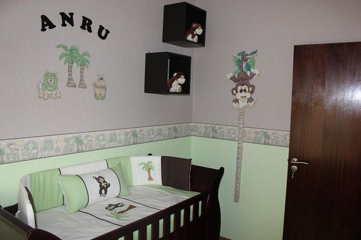 Jungle Safari nursery themed linen, this set includes, baby cot bumper, baby quilt, mini scatter cushion, fitted sheet for large cot and inners. Linen manufactured to fit large cot mattress size of 1.3m X 66cm Contact us for prices and shipping costs. Wallpaper borders available in a range of exciting colours for your nursery!