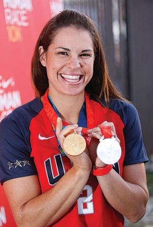 Jessica Mendoza of USA Women's National/Olympic Softball Team