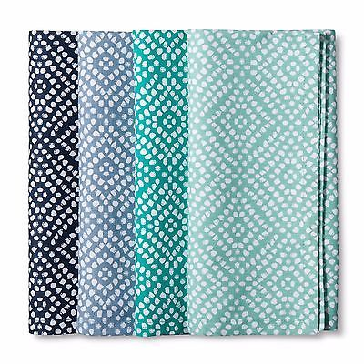 Target Threshold Mix and Match Dot Napkin - Cool Green (Set of 4) NEW