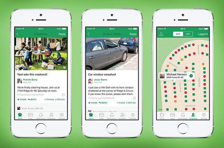Nextdoor App Android Ios Windows Phone Download Nextdoor App Neighborhood App Meet Friends Online