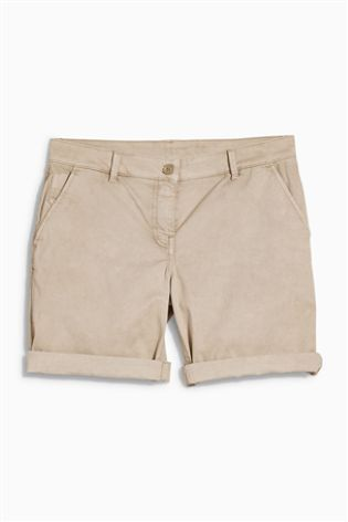 Neutral Chino Shorts