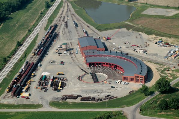 Train Roundhouse Rails Pinterest An Company And Trains