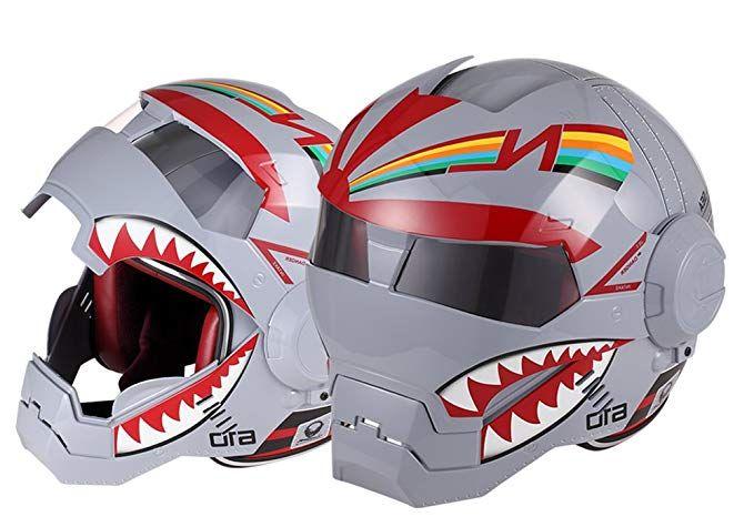 Osnich Japanese Anime Full Face Motorcycle Helmet Street Bike Dirt
